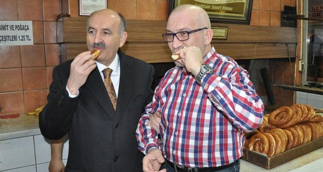 Bakan Müezzinoğlu Bursa esnafını ziyaret etti galerisi resim 1