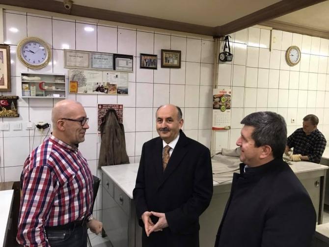 Bakan Müezzinoğlu Bursa esnafını ziyaret etti galerisi resim 3