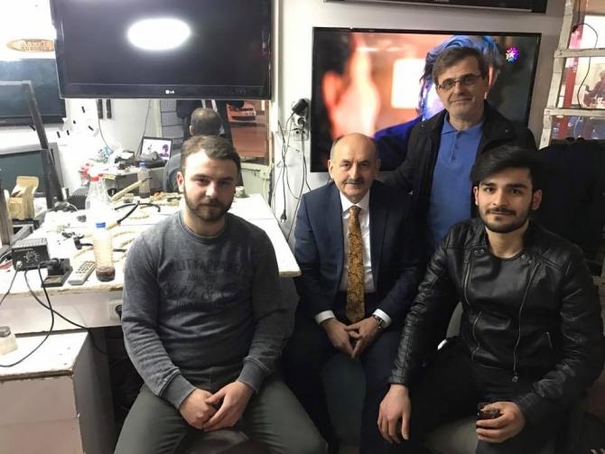 Bakan Müezzinoğlu Bursa esnafını ziyaret etti galerisi resim 6