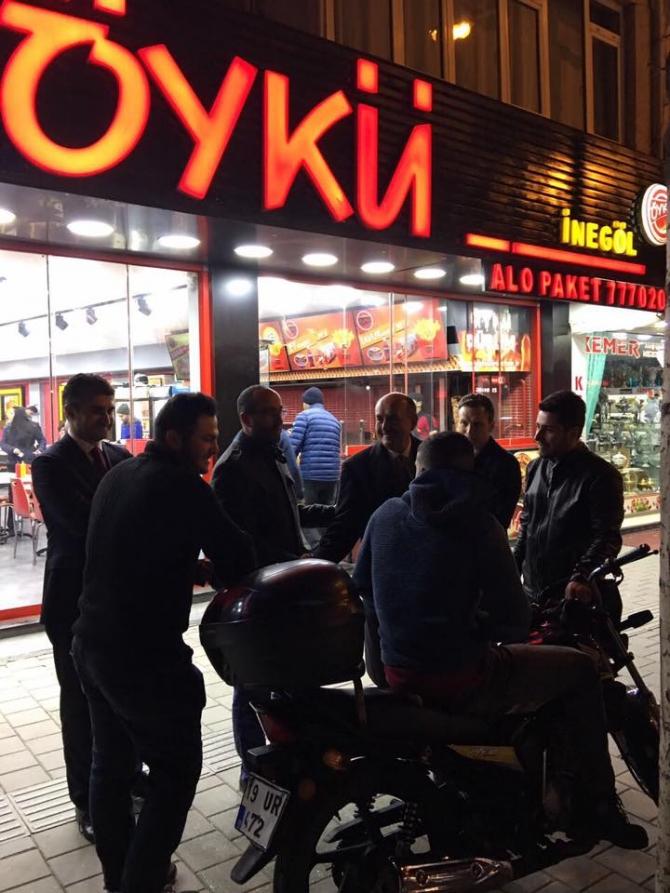 Bakan Müezzinoğlu Bursa esnafını ziyaret etti galerisi resim 7
