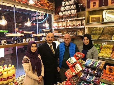 Bakan Müezzinoğlu Bursa esnafını ziyaret etti galerisi resim 8