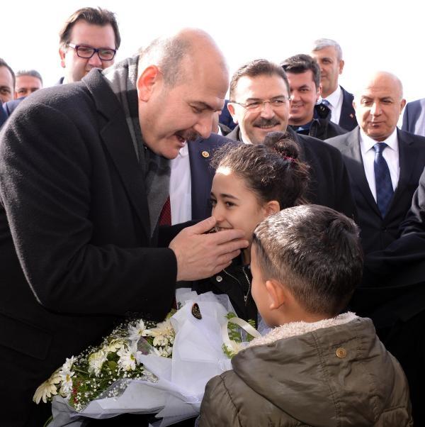 Bakan Soylu, güvenlik toplantısı için Erzurum'da galerisi resim 1
