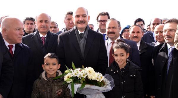 Bakan Soylu, güvenlik toplantısı için Erzurum'da galerisi resim 3