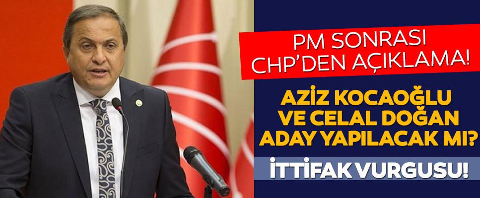 İşte CHP'de adayların isimleri