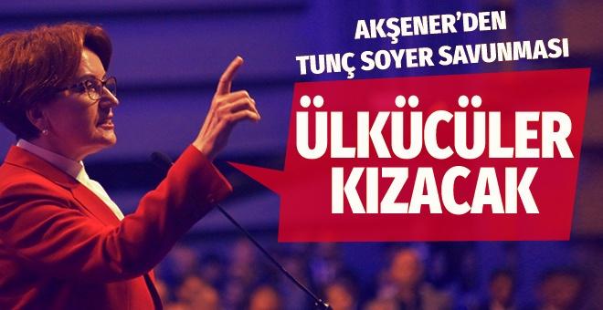 İYİ Parti lideri Meral Akşener'den Tunç Soyer ve Tamer Akkal çıkışı!