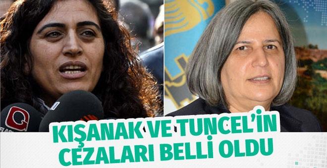 Gültan Kışanak ve Sebahat Tuncel'e hapis cezası!