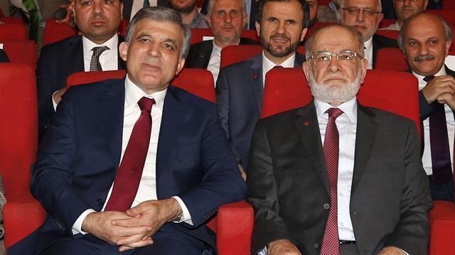 Temel Karamollaoğlu Abdullah Gül'ü partiye davet etti!