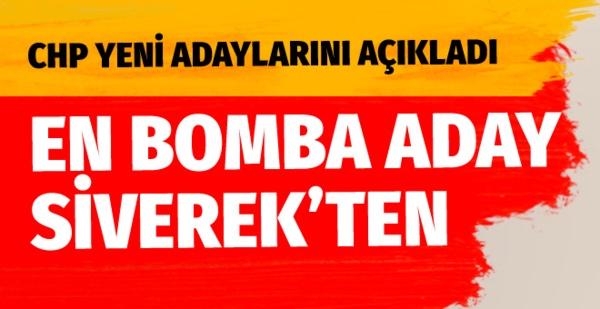 CHP yeni belediye başkan adaylarını açıkladı bomba isim Siverek'ten