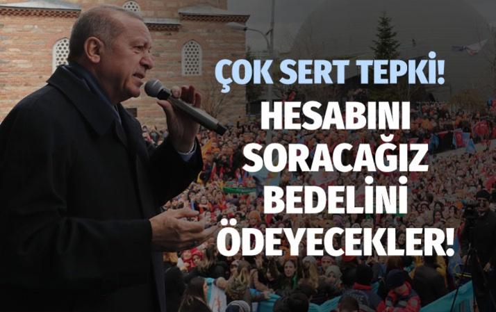 Tayyip Erdoğan'dan HDP'li vekile sert tepki!