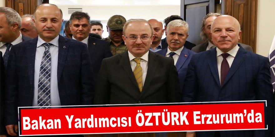 Bakan Yardımcısı Öztürk Erzurum'da