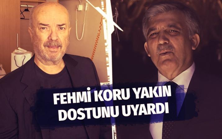 Fehmi Koru'dan Abdullah Gül ve Davutoğlu'na uyarı