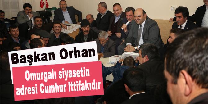 """Orhan: """"Omurgalı siyasetin adresi Cumhur ittifakıdır"""""""