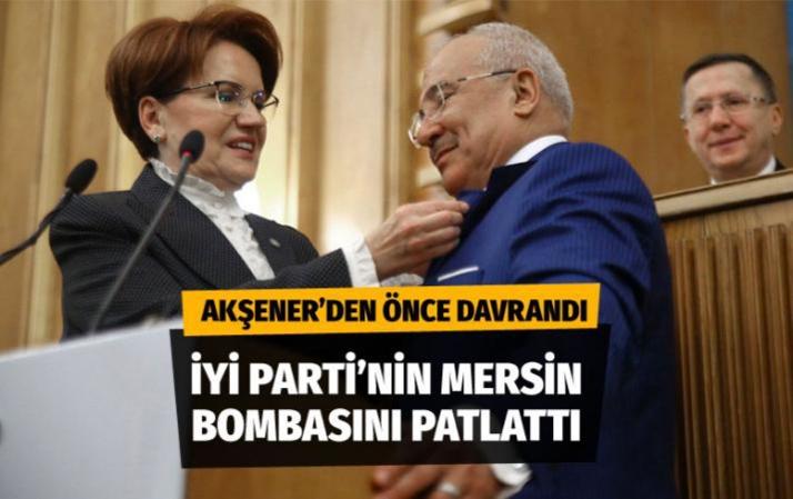 Burhanettin Kocamaz, İYİ Parti'nin Mersin Büyükşehir Belediye Başkan adayını açıkladı