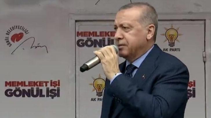 Erdoğan'dan Mersin mitinginde açıklamalar