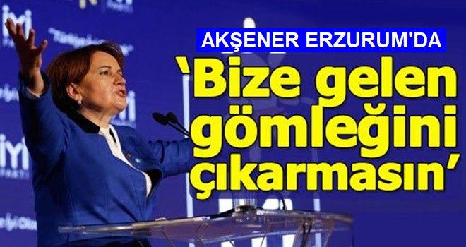 Akşener: MHP'ye ve AK Parti'ye oy verenler kardeşimizdir