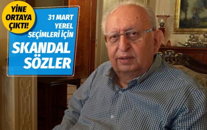 Hüsamettin Cindoruk'tan seçim için skandal sözler! Bu bir intikam seçimidir