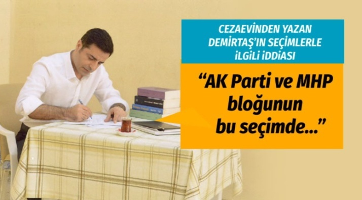 Demirtaş'ın yerel seçim iddiası!