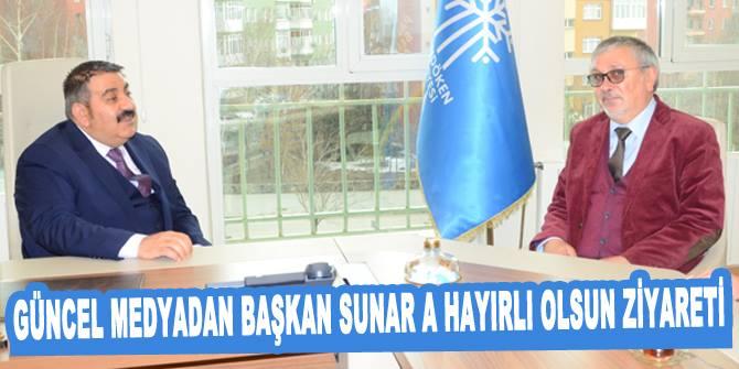 Kapucu'dan Başkan Sunar'a hayırlı olsun ziyareti