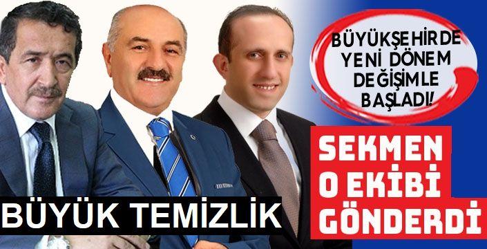 Başkan Sekmen'den İstanbul ekibine operasyon!