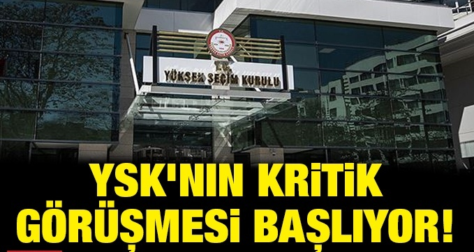 YSK bugün MHP'nin itirazını görüşecek