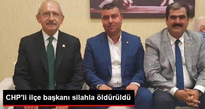 CHP Oğuzeli İlçe Başkanı İlhan Keskinsoy Öldürüldü