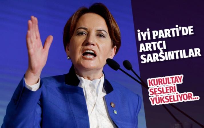 İYİ Parti'de olağanüstü kurultay sesleri yükseliyor!