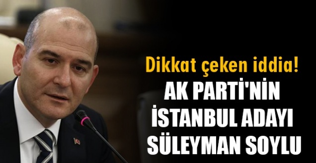 İstanbul'da Süleyman Soylu mu aday olacak? Binali Yıldırım'dan açıklama