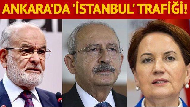 Kılıçdaroğlu'ndan Akşener ve Karamollaoğlu'na 'İstanbul' telefonu