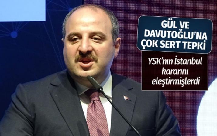 Mustafa Varank'tan Davutoğlu ve Gül'e sert tepki