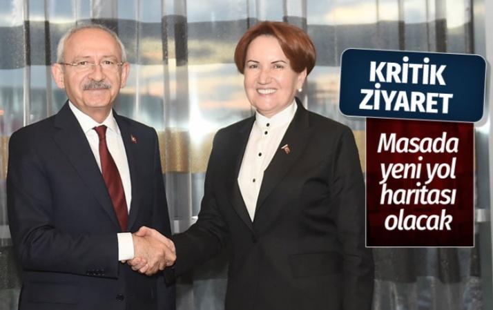 Kemal Kılıçdaroğlu'dan Meral Akşener'e kritik ziyaret 23 Haziran yol haritası