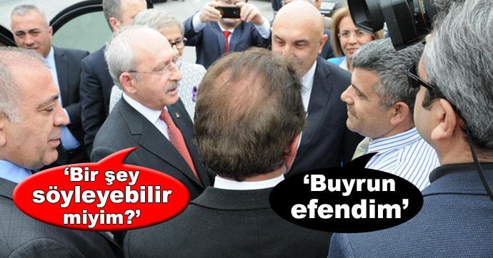Kılıçdaroğlu ile vatandaş arasındaki diyalog