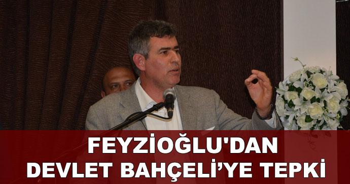 Feyzioğlu'dan Devlet Bahçeli'ye tepki