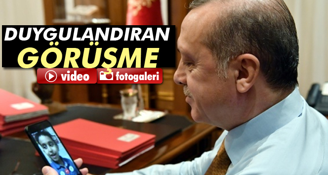 Erdoğan, lösemi hastası Bedirhan'la görüştü