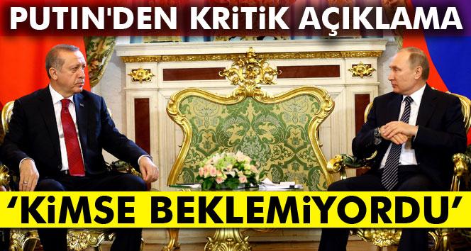 Erdoğan ile Putin görüşmesinden kritik mesajlar