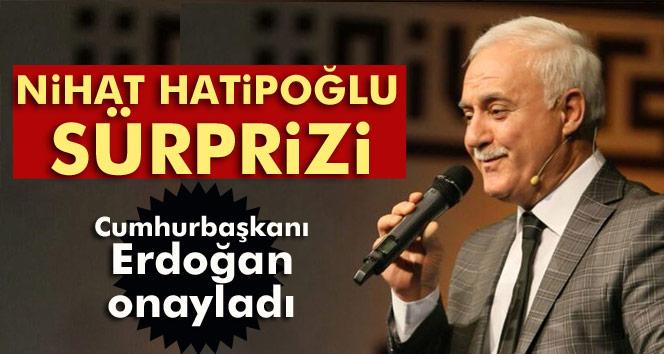 Erdoğan, Nihat Hatipoğlu'nun YÖK üyeliğini onayladı