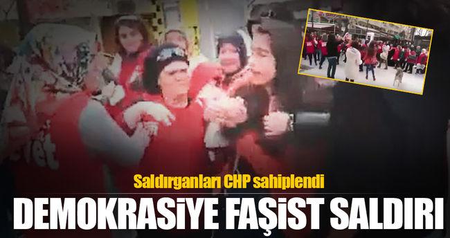 Demokrasiye faşist saldırı