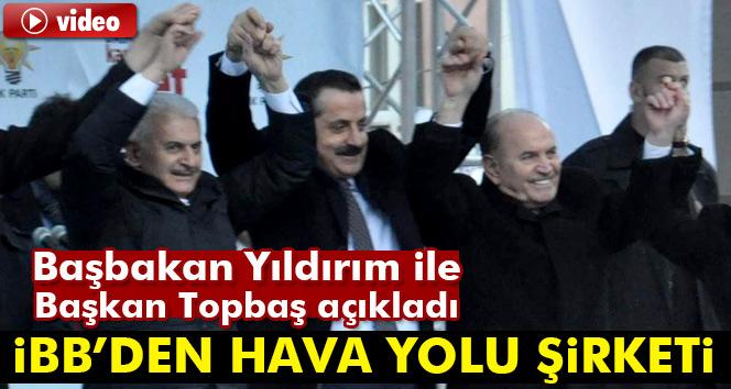 """Başbakan Yıldırım'dan Kadir Topbaş'a Artvin'den """"uçak"""" talimatı"""