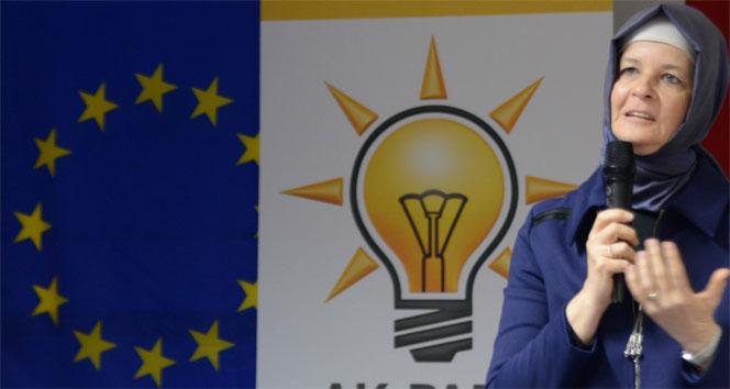 Meryem Göka: 'Almanya iki yüzlülük yapıyor'