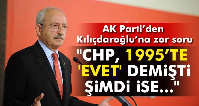 Şentop: 'CHP, 1995'te 600 milletvekili teklifini desteklemişti'