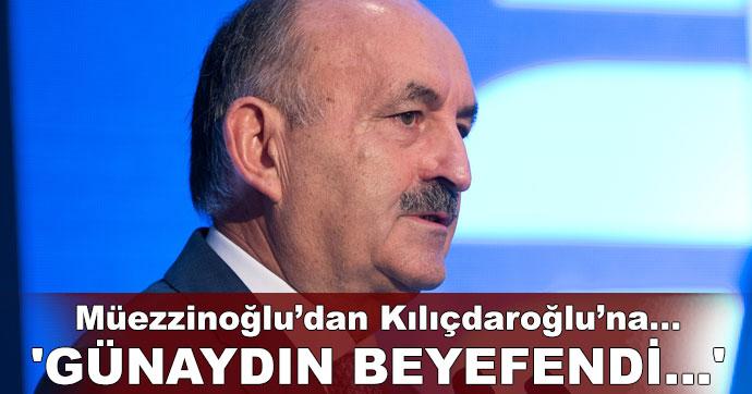 Müezzinoğlu'dan Kılıçdaroğlu'na... 'Günaydın beyefendi...'