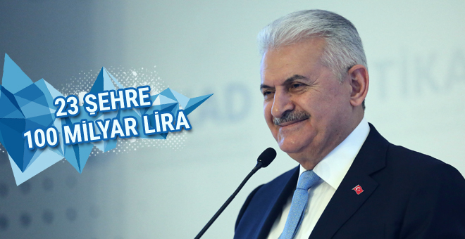 23 şehre 100 milyar lira!