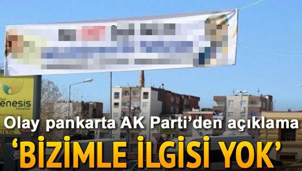 AK Parti'den 'Şeyh Sait'li pankarta açıklama