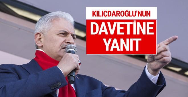 Yıldırım'dan Kılıçdaroğlu'na davetine yanıt