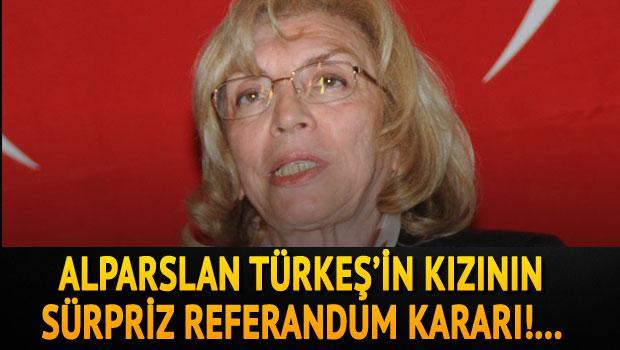 Türkeş referandum kararını açıkladı