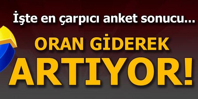 Erdoğan için 'Evet' diyeceklerin oranı artıyor
