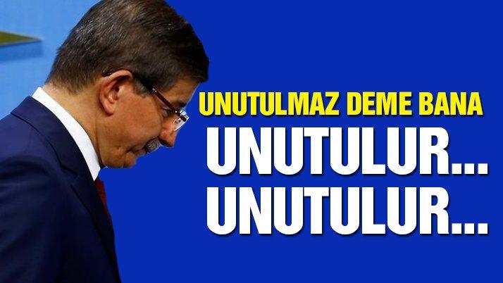 Davutoğlu'nu davet etmediler!