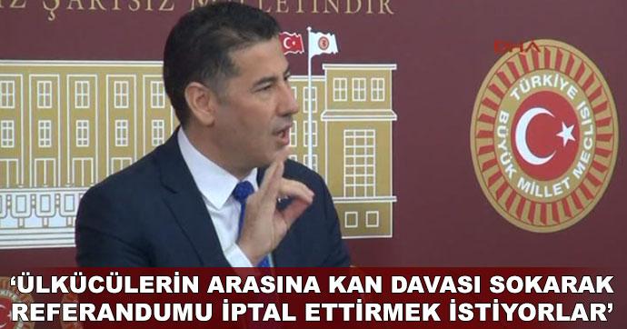 Sinan Oğan'dan 'referandum' iddiası