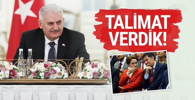 Başbakan'dan MHP'li muhaliflerle ilgili talimat