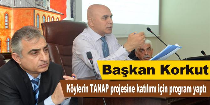 Köylerin TANAP projesine katılımı için program yaptı