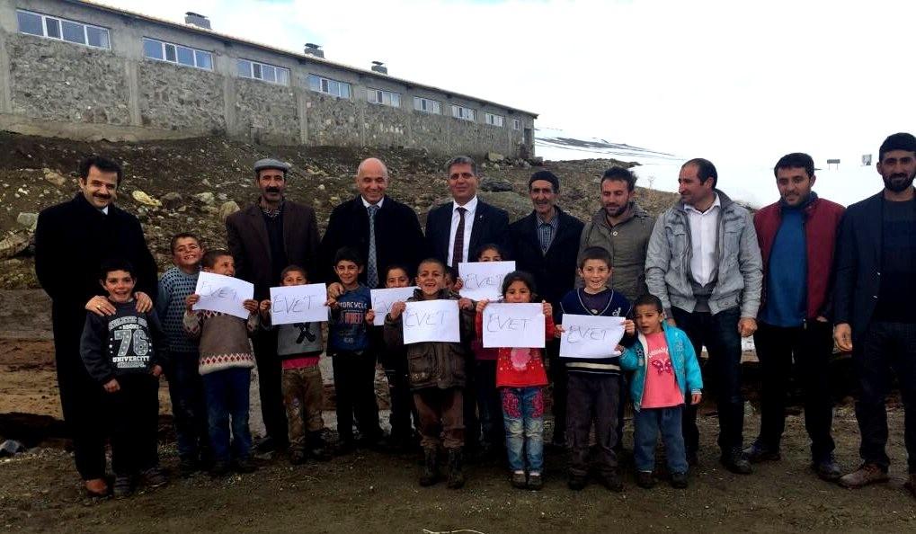 Milletvekili Ilıcalı, Karayazı'da